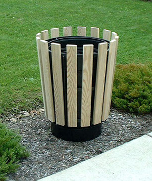 Park trash receptacles, playground equipment, bike racks, picnic tables, and benches can be customized engraved as a memorial.
