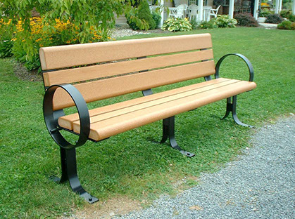 Outdoor Metal Park Benches Quotes